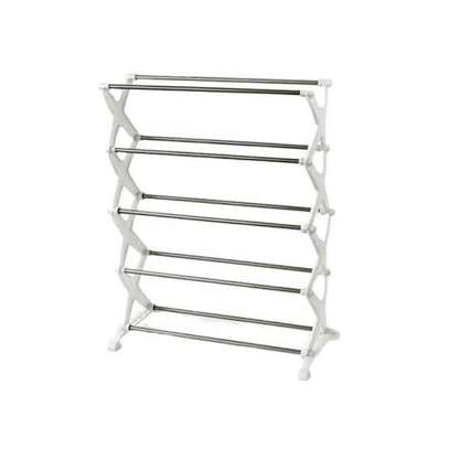 5 Tier Portable Shoerack image 1