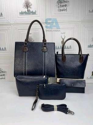 Fancy 5 in 1 Leather Handbags image 8
