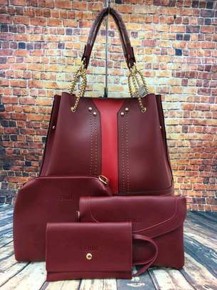 4in1 Leather Handbag image 6