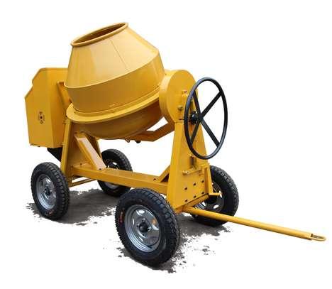 Concrete mixer 400l Diesel powered. image 4