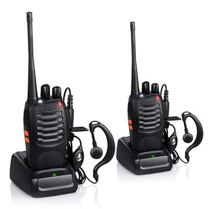 1 Pair Or 2 Pieces Of Baofeng BF-888S Two Way Walkie Talkie Radio image 1