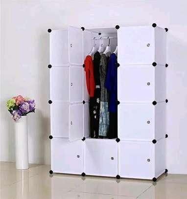 3 column plastic wardrobe image 2