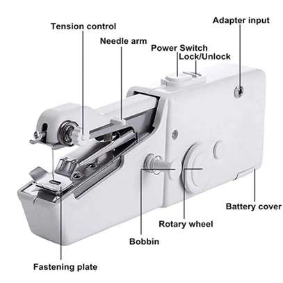 Hand held Portable sewing machine Battery powered image 5