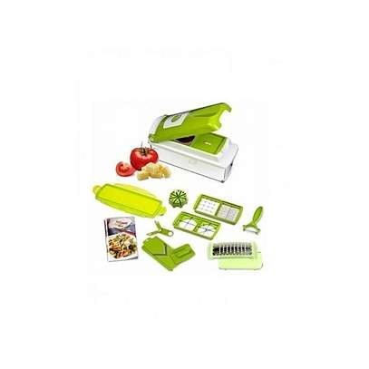 Nicer & Dicer - Multicolored Multi-function Vegetable Chopper,Cutter,