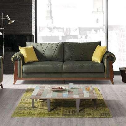 Wood sofas/Latest sofa set designs/patterned sofas/Modern sofas kenya image 1