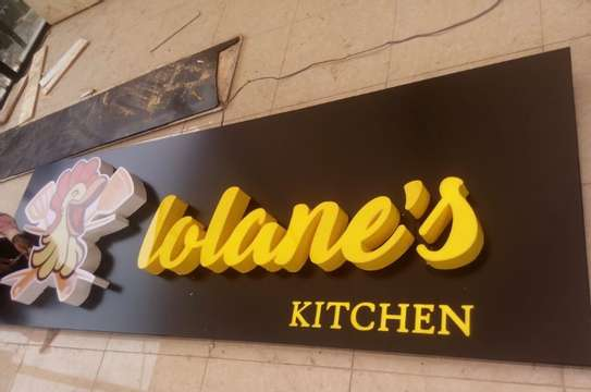 We do quality 3D signage, Light box signage, corporate logos.. contact us for pricing image 10