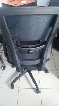 Augustin Medium Back Semi Orthopedic Office Chair image 2