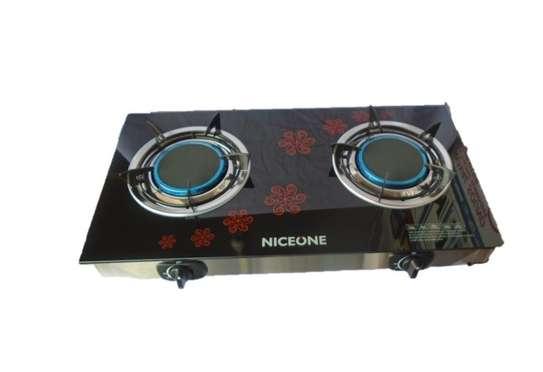 2 Burner - Glass top - Black image 2