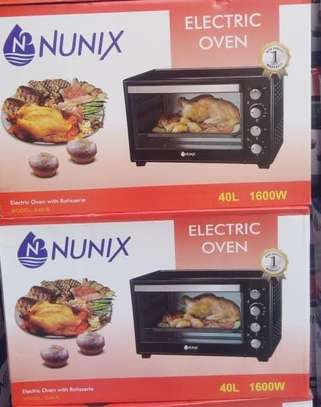 40ltrs electric oven with analog timer image 1