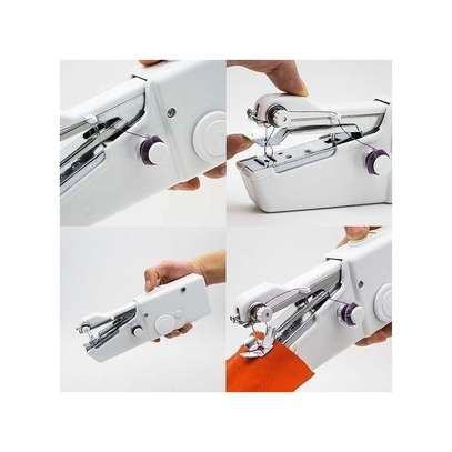 Handy Stitch Portable And Convenient Hand Held Electric Sewing Machine image 2