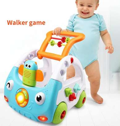 Baby 3in1 Baby Walker & Discovery Car image 4