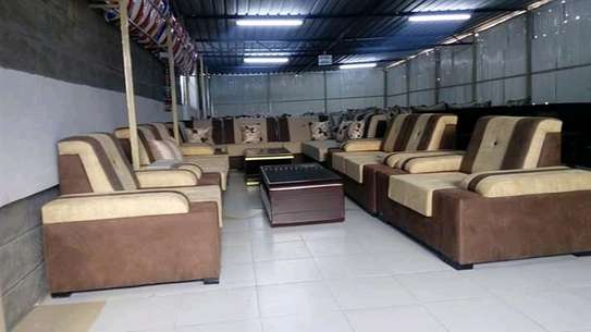 7 seater suede sofas image 1