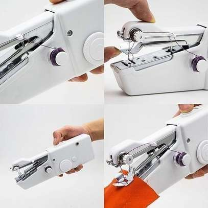 Handy Stitch Multi-Functional Hand-held electric Mini Sewing Machine - DIY Tools image 1
