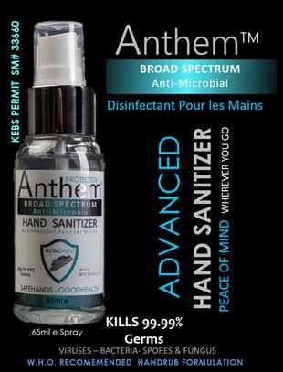 ANTHEM Broad spectrum Anti-Microbial Handrub Sanitizer. image 10