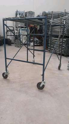 Scaffolding frame ladder for sale and hire. image 3