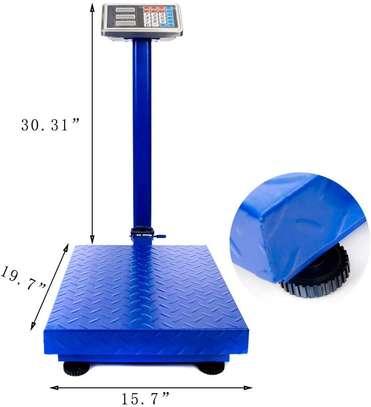 Platform Scale TCS 300KG LED Digital Foldable Animal Electric Weight scale image 1