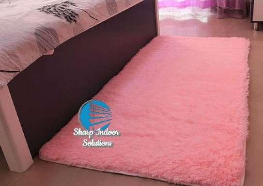 fluffy bedside rugs image 1