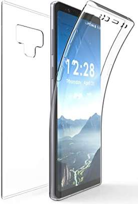 Clear TPU Soft Transparent case for Samsung Note 9 image 5