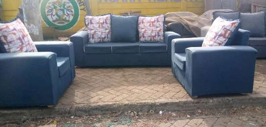 Simple Modern Ready Made 5 Seater Sofa image 1