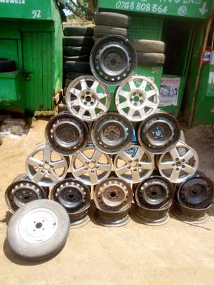 Rims both second hand and ex japan