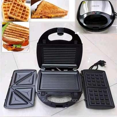 Break fast Maker (sandwich grill, waffle Maker) image 1