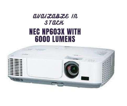 NEC NP 603X  WITH 6000 LUMENS image 1