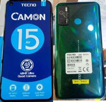 "Tecno Camon 15 Air (CD6) 6.6"" FHD 3GB RAM+64GB ROM, Android Q, 48MP Quad Rear Camera, 5000mAh, 4G, Fingerprint Face ID image 2"