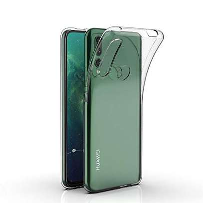 Clear TPU Soft Transparent case for Huawei Y9 Prime 2019/Y7 Prime 2019 image 1