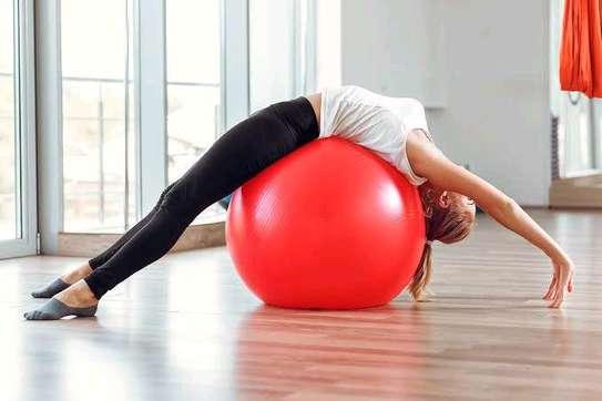 Yoga pregnancy balls