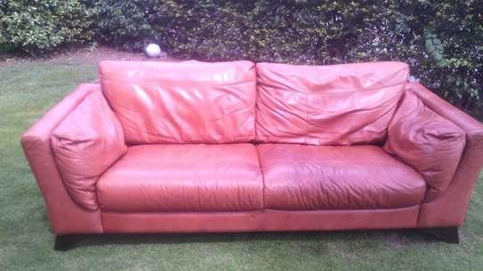 Leather Sofa Dye and Seat Repair image 7