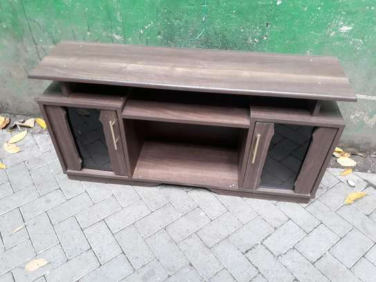 Chocolate tv stand (brown) image 1