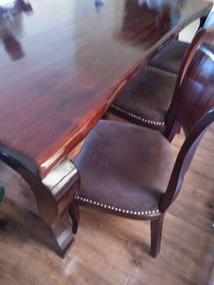 8 Seater Mahogany Dining Sets. (Vintage look) image 3