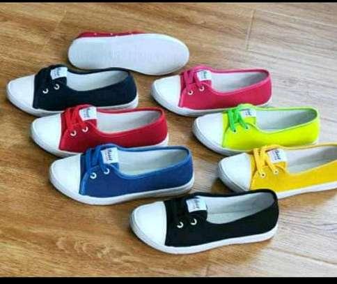 Fashion Ladies rubber shoes image 1