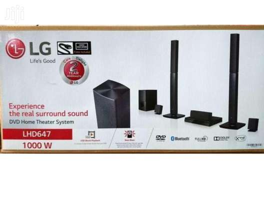 LG 647 home theater system BRAND NEW image 1