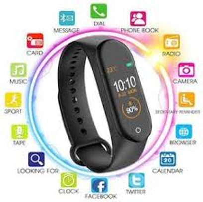 MorePro Blood Pressure Heart Rate Monitor Fitness Activity Tracker image 1