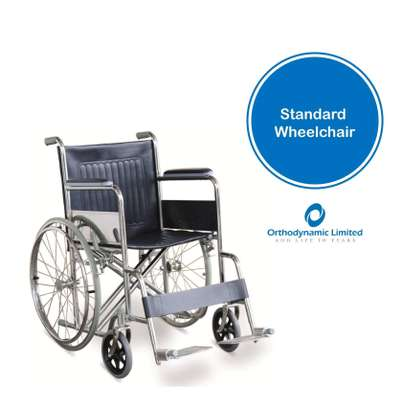 Standard commode wheelchair image 2