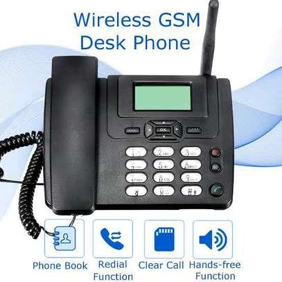 GSM landline desk phone image 1