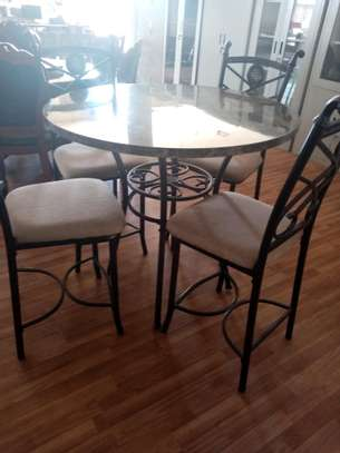 Rita 4 seater dining table image 1