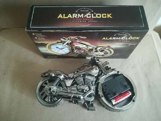 Creative Motorcycle shaped Alarm clock image 4