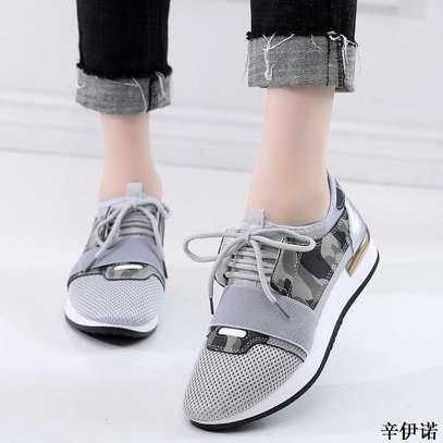Grey Sneakers image 1