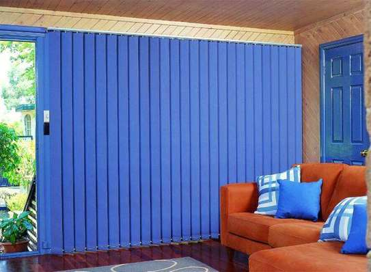 Vertical blinds with choice of colours image 1