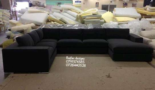U shaped sofas/eight seater sofas image 1