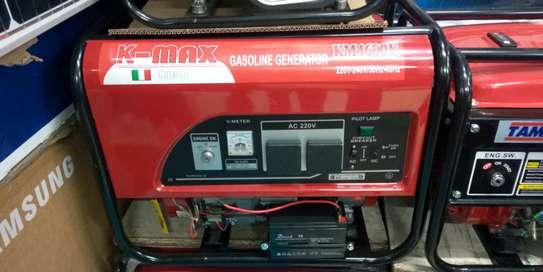 K-max Italy Gasoline keystart Generator 5kva; KM4600E image 2