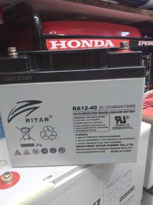 Ritar 12V 40Ah 10Hours Sealed Lead-acid Battery image 1
