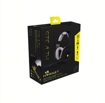 STEALTH HORNET MULTI-FORMAT STEREO GAMING HEADSET (NINTENDO, PC, PS4) image 1