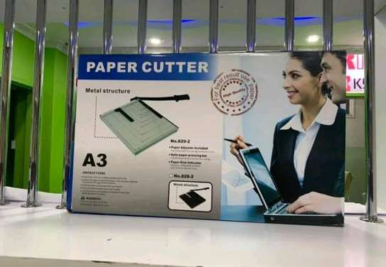 Paper cutter effective and metallic image 1