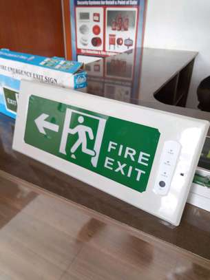 Automatic Fire Exit Sign