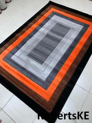 orange grey Carpets image 1
