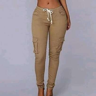 Cargo pants for ladies and kids image 2
