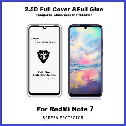 5D Full Glue Full Screen Tempered Glass Film for Xiaomi Note 7 Note 7 Pro image 3